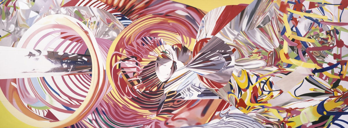 Rosenquist - The Stowaway Peers Out at the Speed of Light.jpg