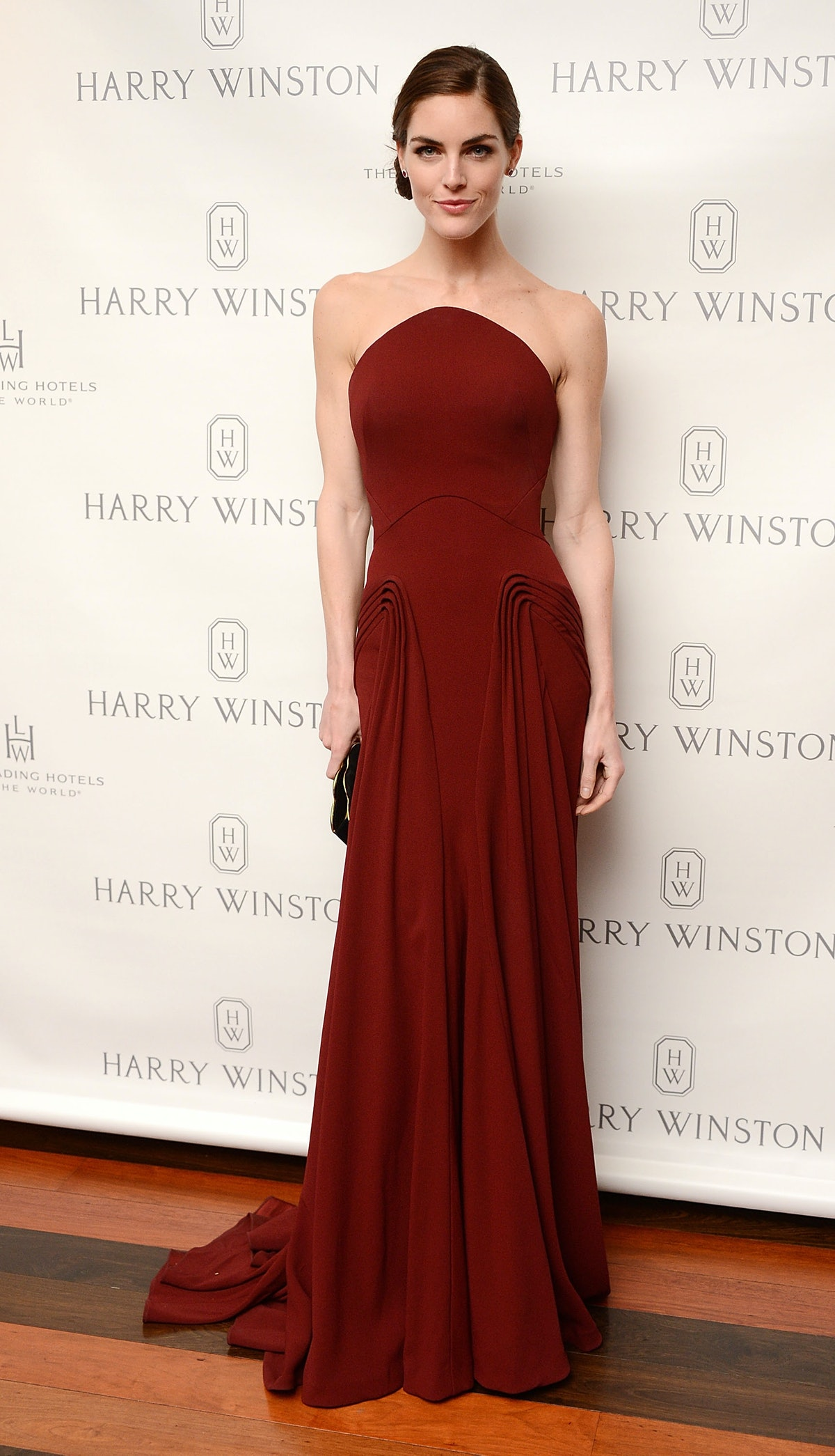 Harry Winston Hosts A Dinner For Jessica Chastain At The Leading Hotels Of The World's Setai