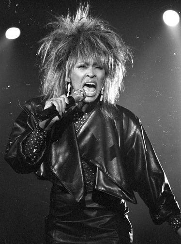 Tina Turner Performs On A TV Show