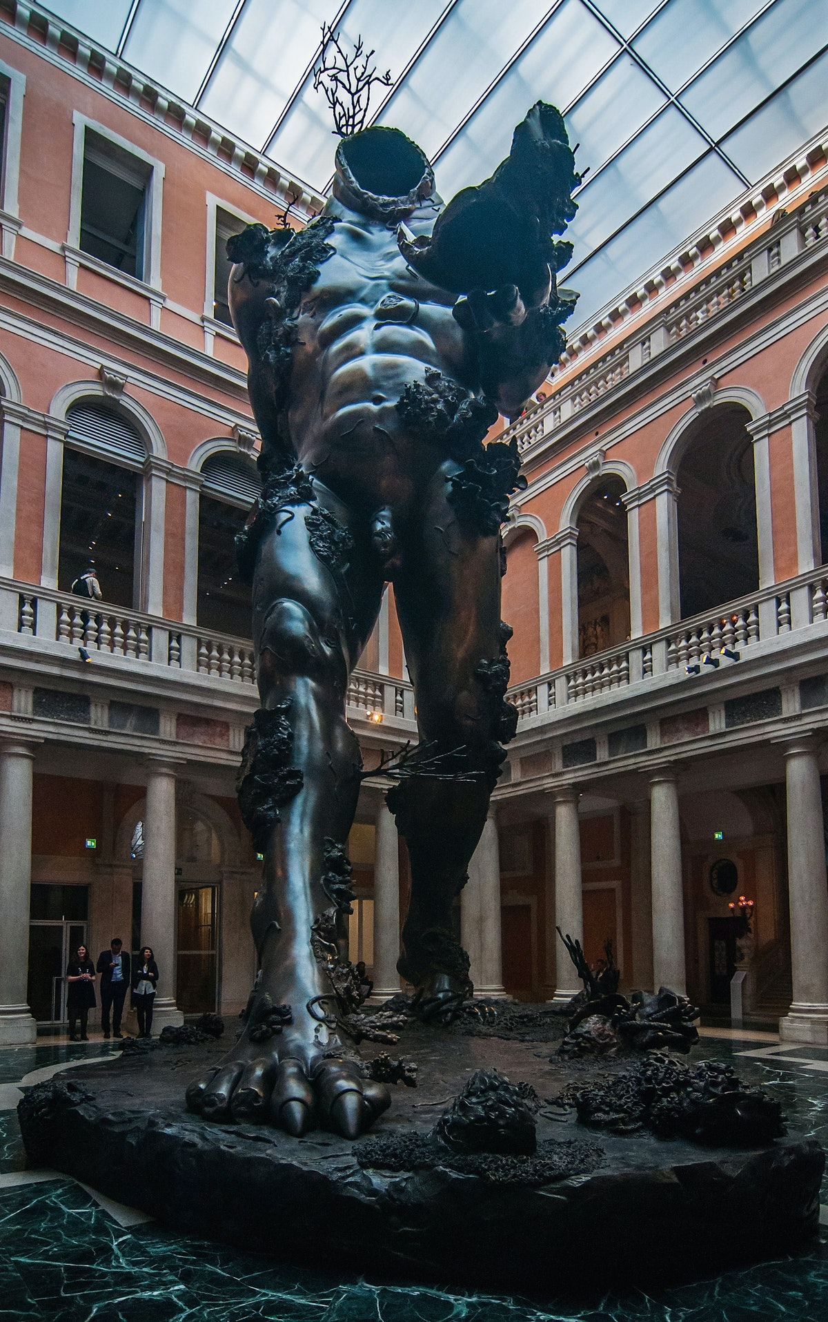 Damien Hirst 'Treasures From The Wreck Of The Unbelievable' Exhibition Preview