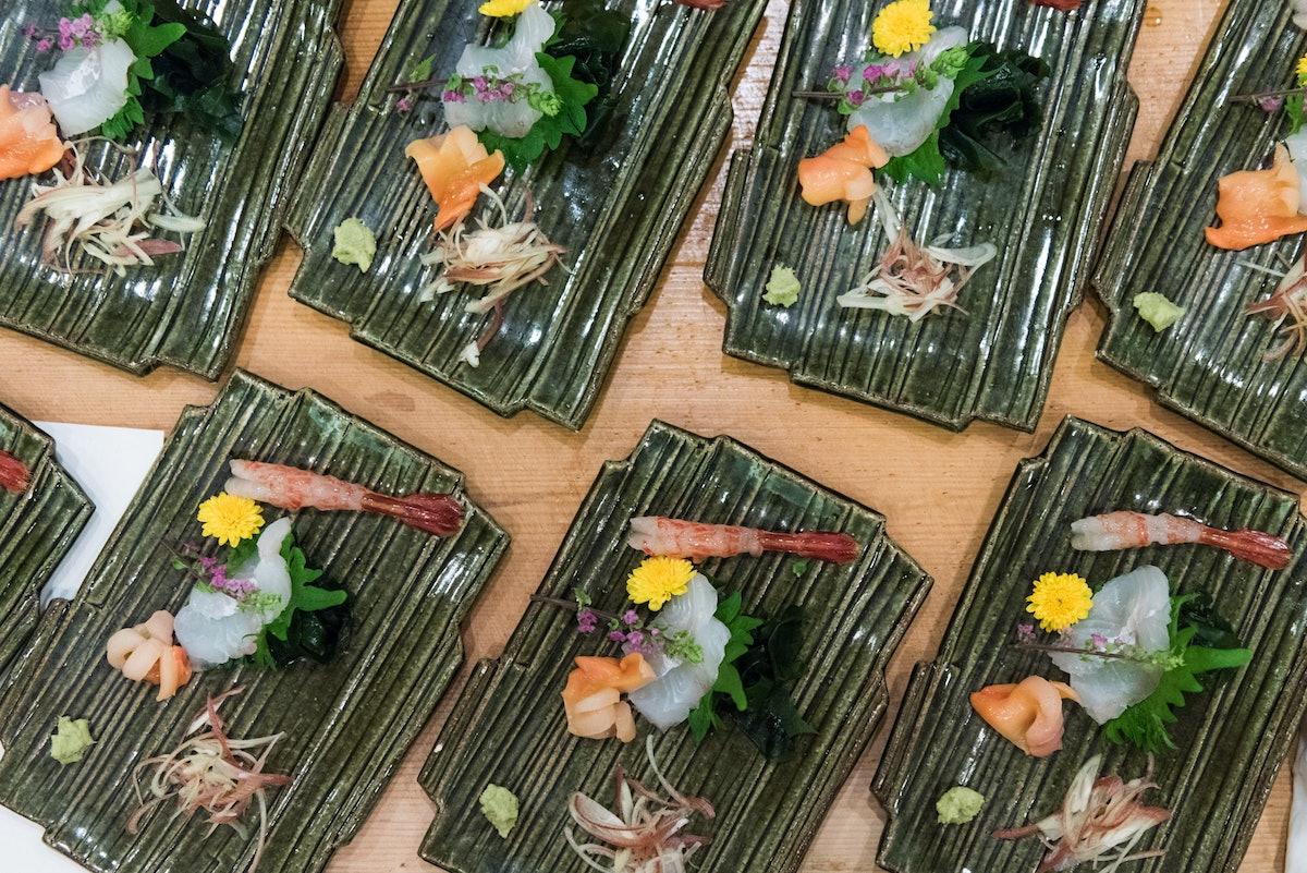 Sushi as part of the Omakase dinner at Kajiwara.jpg