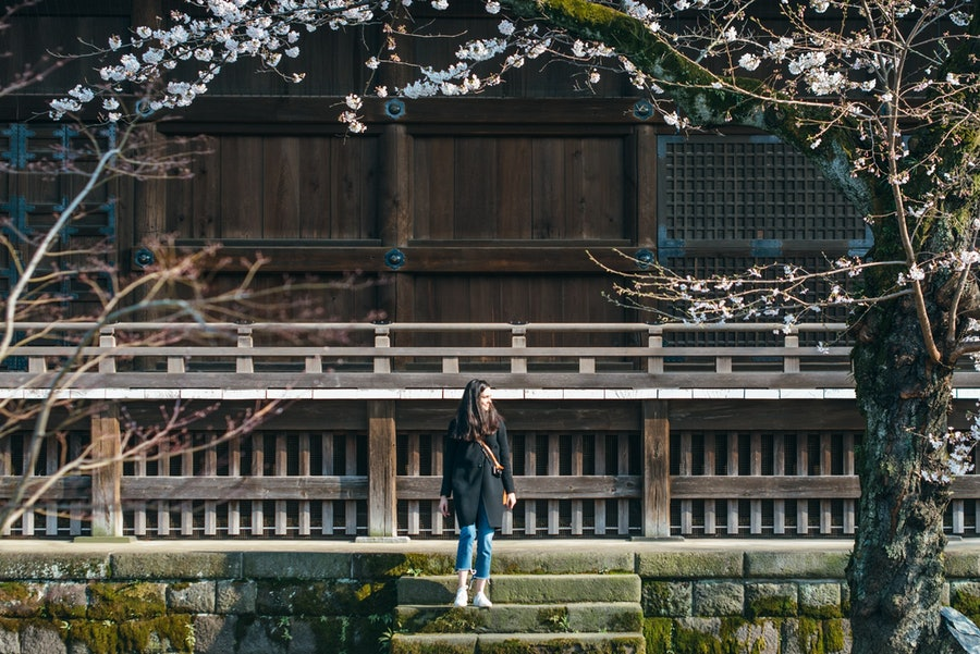3. Juliana Rudell Di Simone at Kaneiji Temple in Taito (1).jpg