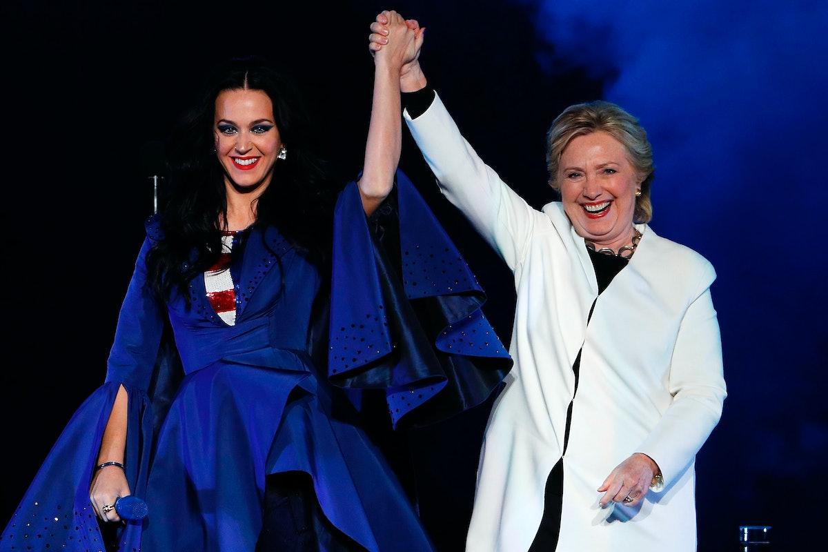 Katy Perry Hillary Clinton