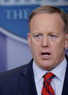 White House Press Secretary Sean Spicer Holds Daily Press House Briefing At White House