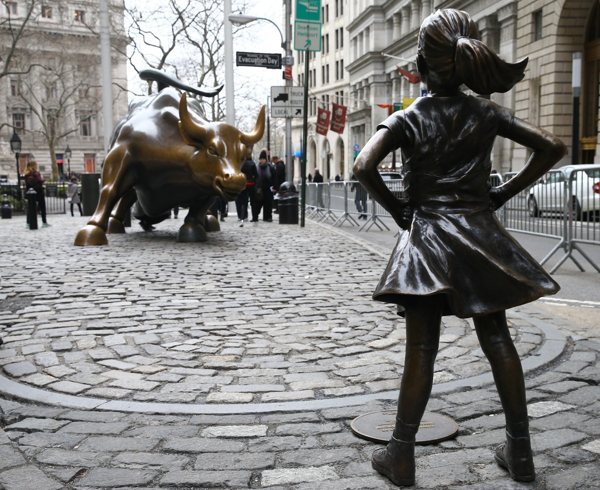 'Fearless Girl' statue