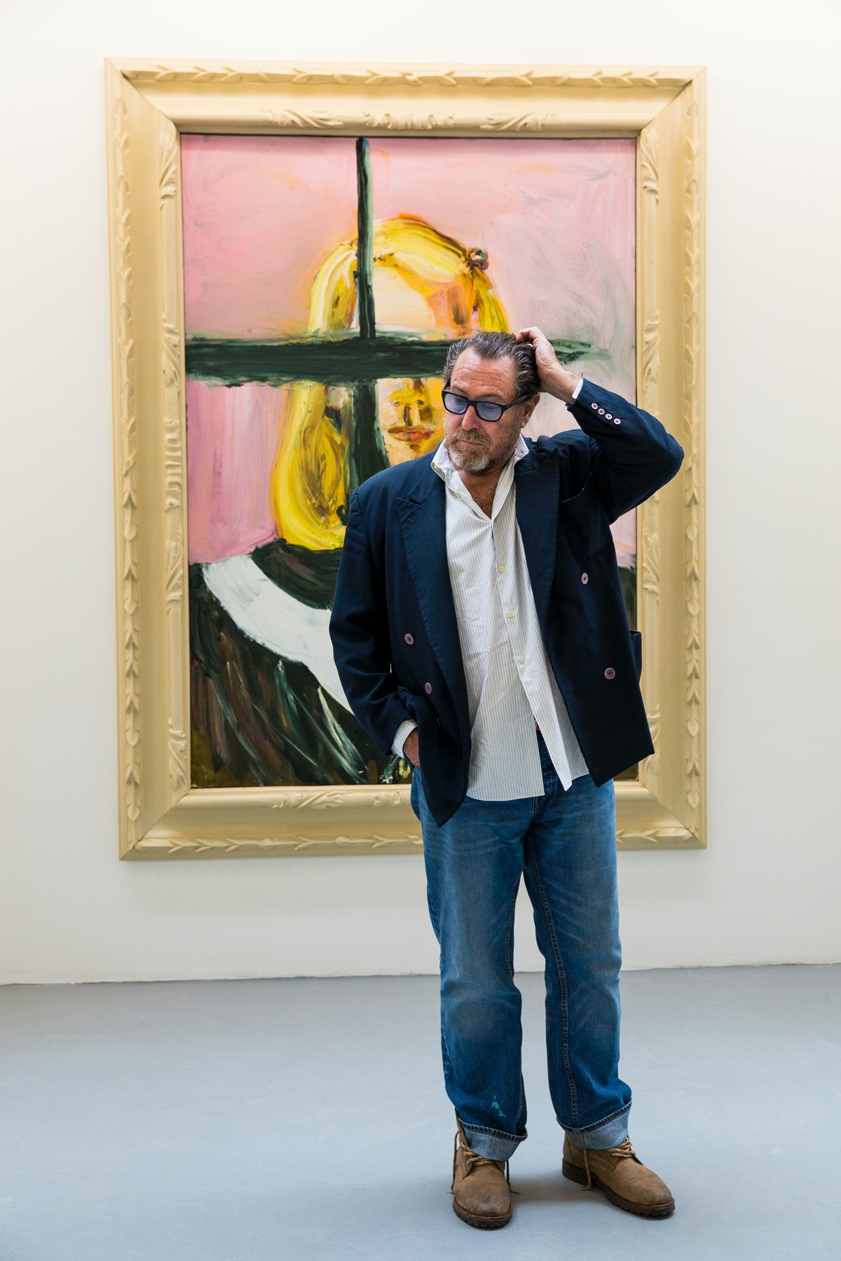 Julian Schnabel Opens His First UK Solo Exhibition In 15 Years