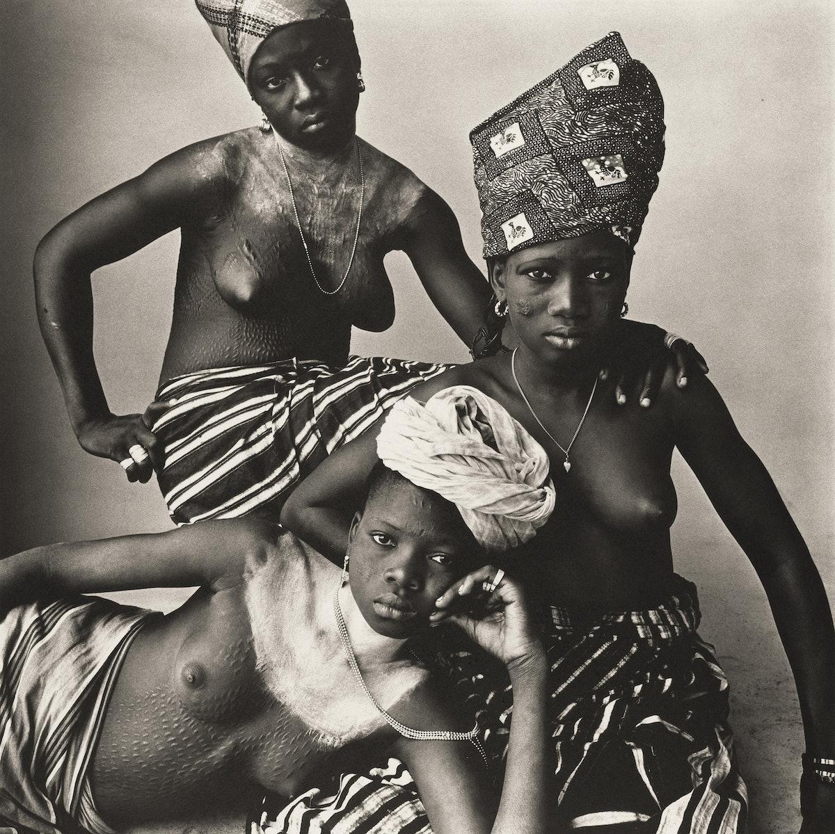 Three Dahomey Girls, One Reclining.jpg