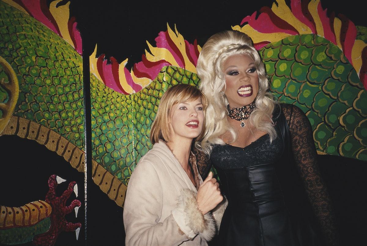 Linda Evangelista And RuPaul