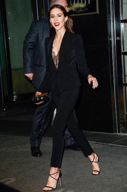Celebrity Sightings in New York City - April 19, 2017
