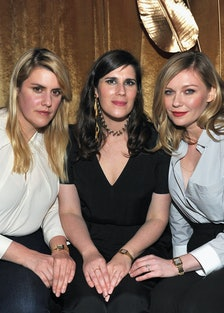Kirsten Dunst and Mulleavy Sisters
