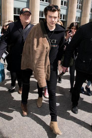 Harry Styles Sighting In Paris -  April 26, 2017