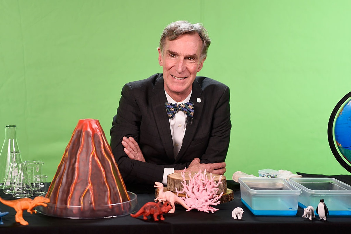 Bill Nye Hosts National Park Foundation 'View-A-Thon' At Mashable