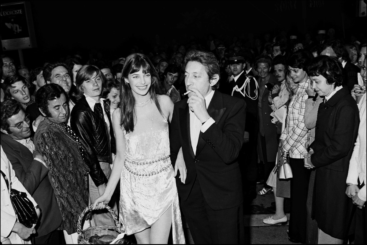 Cannes film festival in Cannes, France in May, 1974.