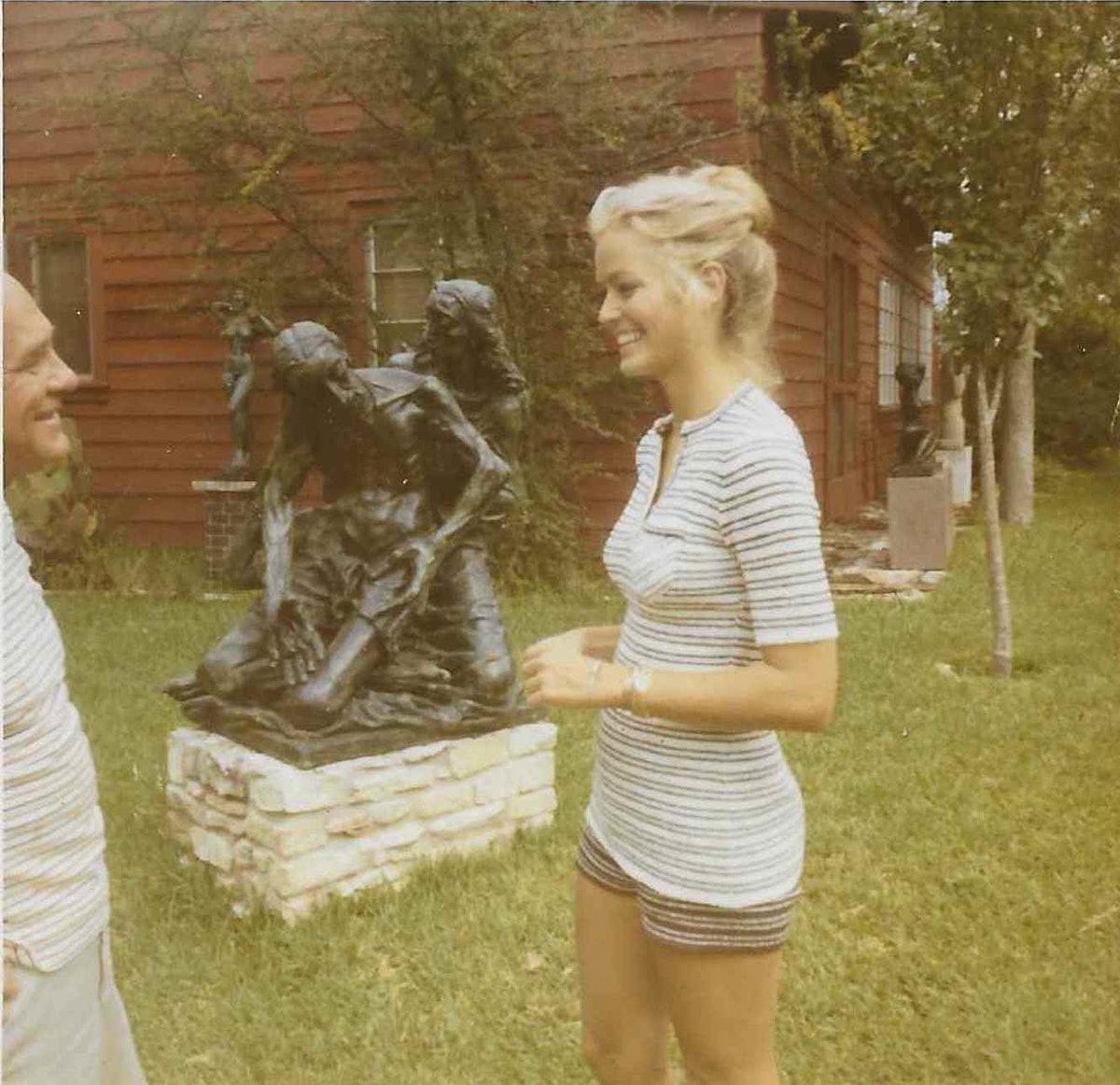 Charles Umlauf Pieta Farrah Fawcett Sept 1971 Austin Photo Courtesy Greg Walls.jpeg