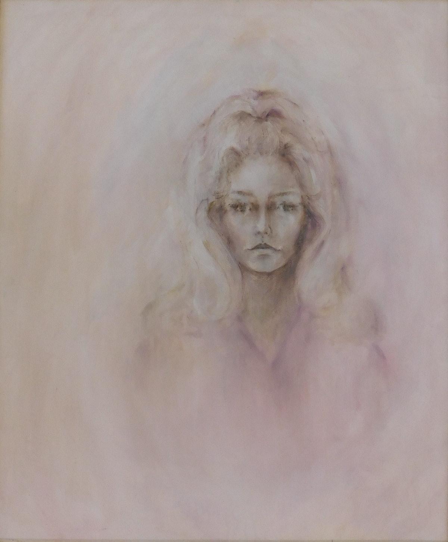 Farrah Fawcett Self Portrait c. 1970 Collection Greg Walls.JPG