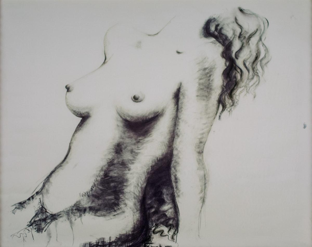 Fawcett, Nude Torso, 1997, photo by Maryhelen Murray.jpg