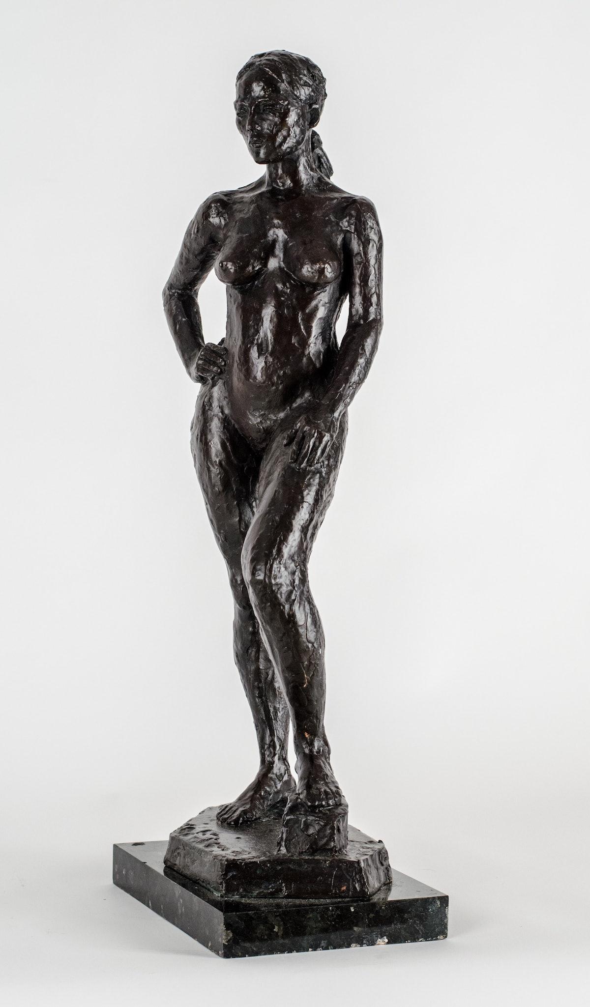 Fawcett, Standing Nude, n.d., photo by Maryhelen Murray.jpg