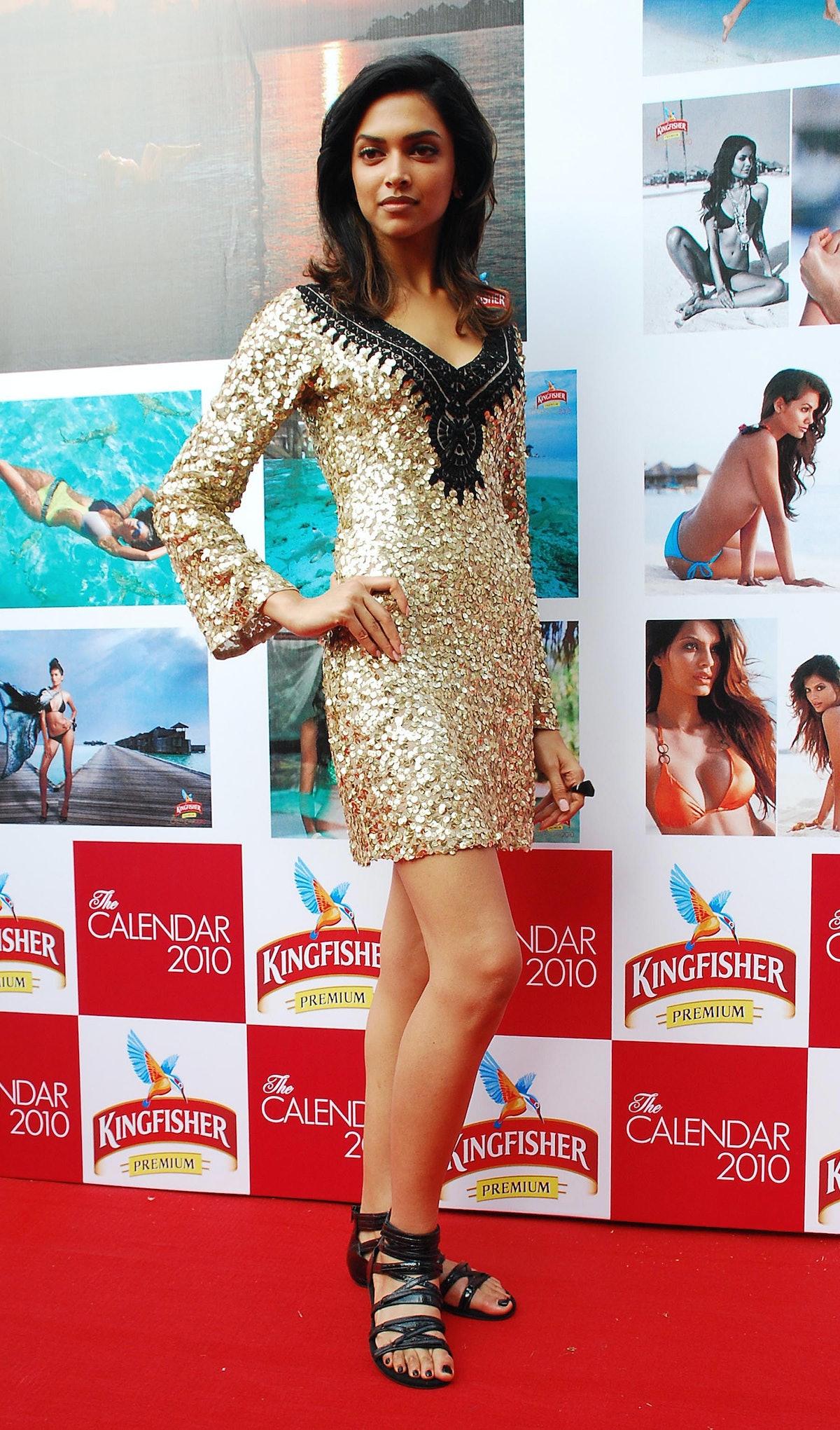 Indian Bollywood actress Deepika Padukon