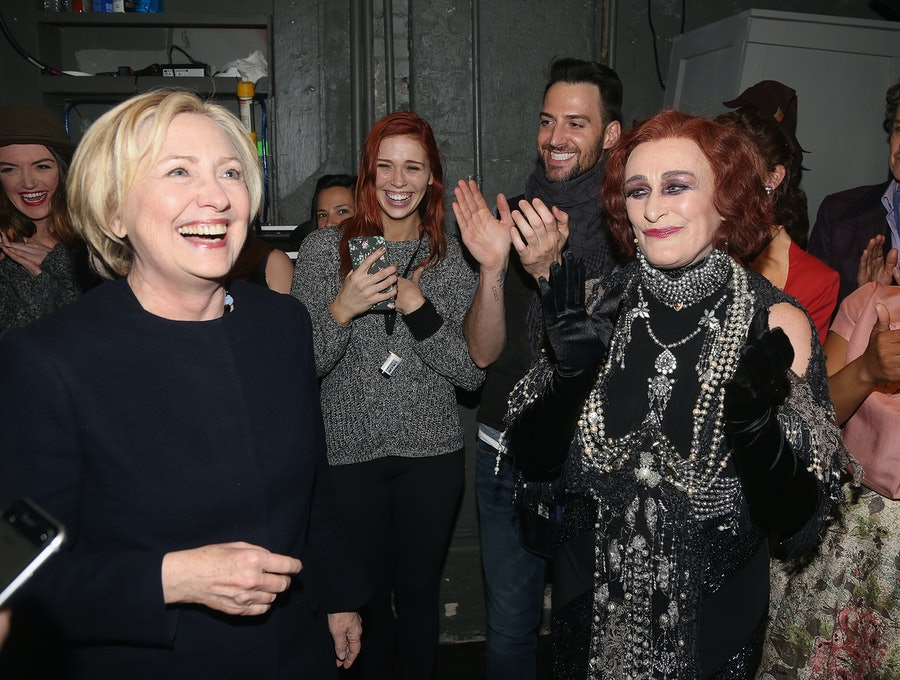 Celebrities Visit Broadway - February 15, 2017