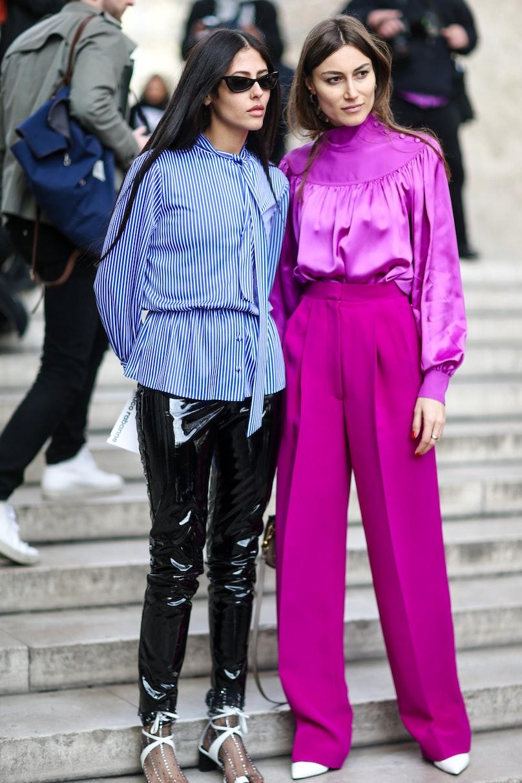 Street Style : Day Three - Paris Fashion Week Womenswear Fall/Winter 2017/2018