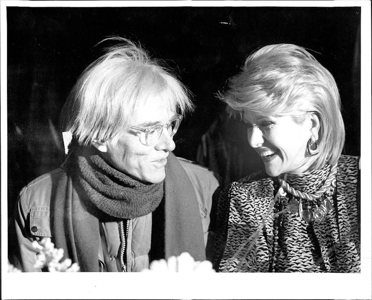 Judges Andy Warhol And Ivana Trump