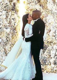 kim wedding