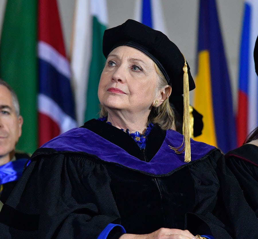 Hillary Clinton Delivers Commencement Address At Wellesley College
