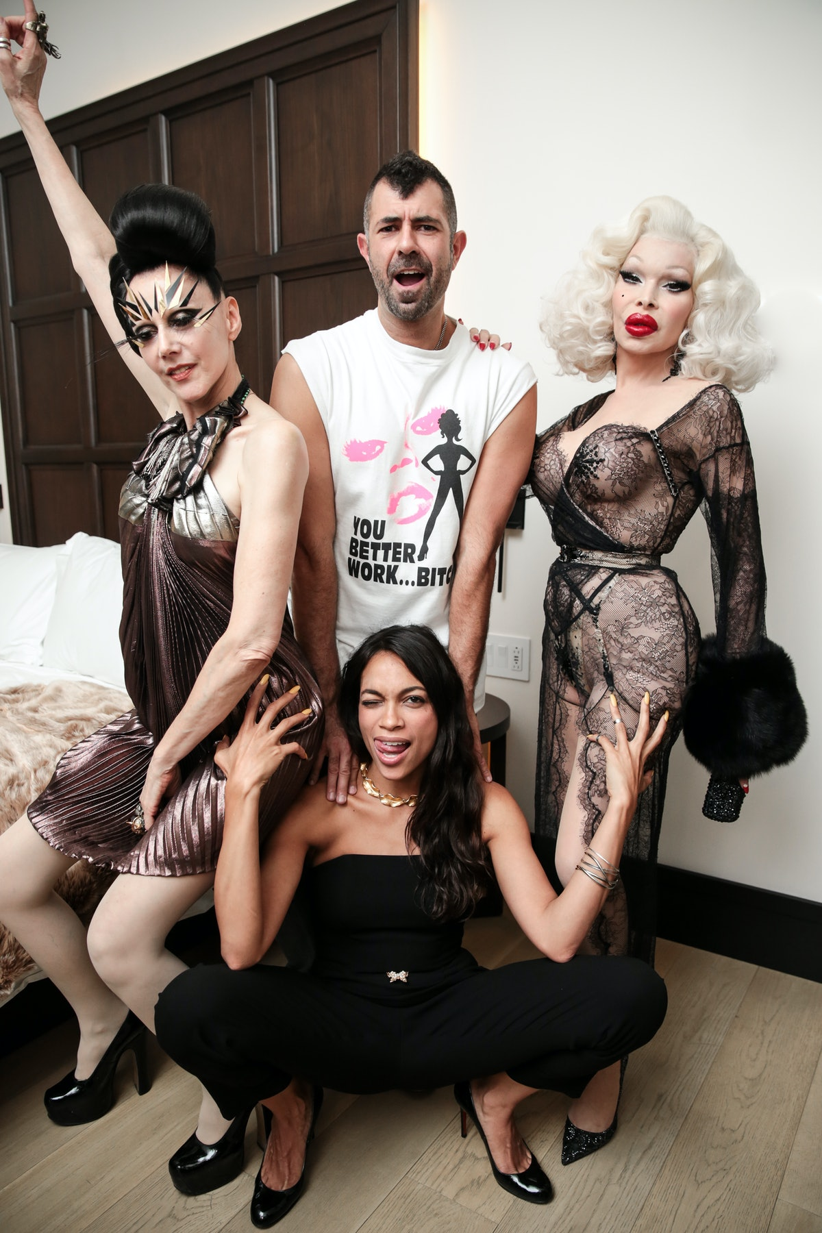 Jeremy Kost presents French Girls : at EDITION with Susanne Bartsch and Amanda LePore
