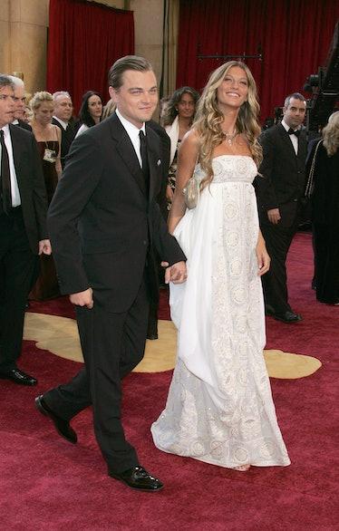 Gisele Bündchen and Leonardo DiCaprio.