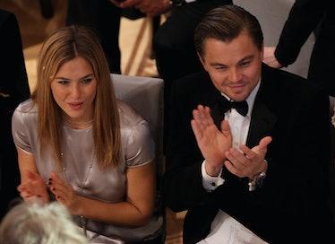 Bar Rafaeli and Leonardo DiCaprio