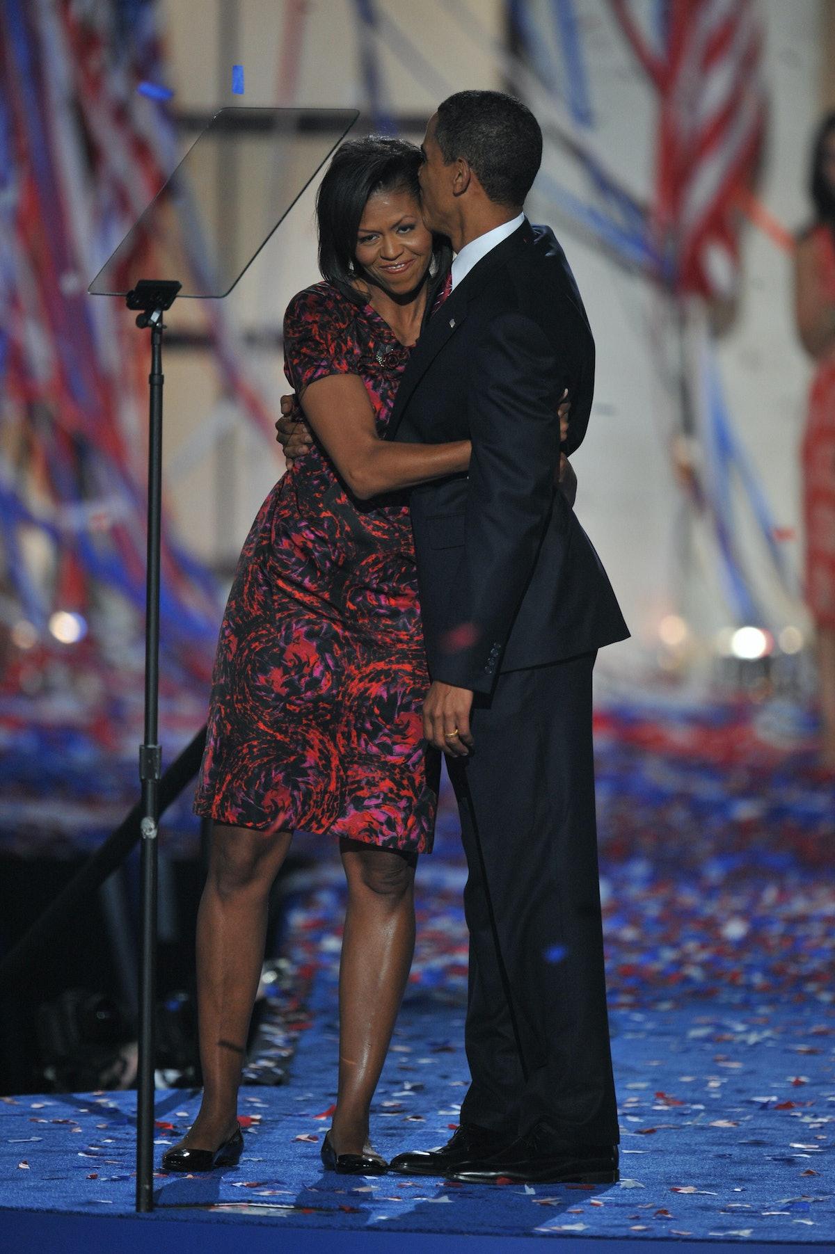 Democratic presidential nominee Barack O