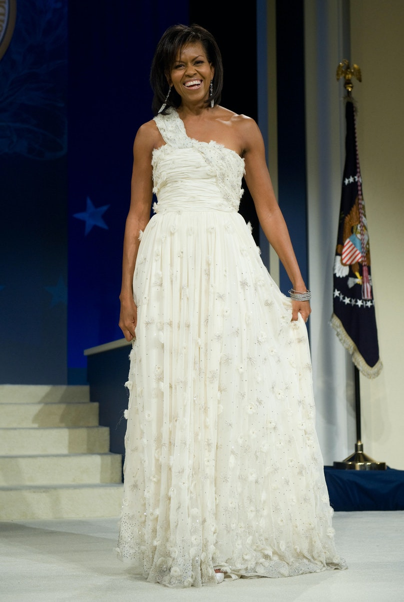 First Lady Michelle Obama during the Mid