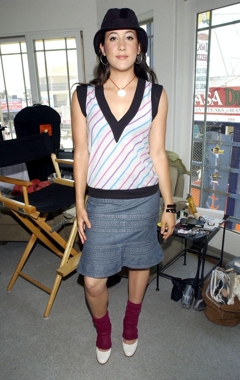"""Eve and Vanessa Carlton Visit MTV's """"TRL: All Access Week"""" - July 16, 2002"""