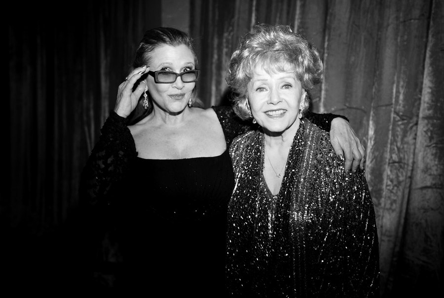 Carrie Fisher and Debbie Reynolds