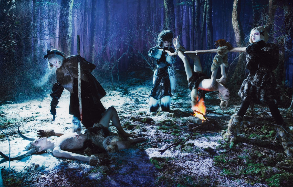 Spellbound. Photo by Steven Meisel, styled by Edward Enninful. W Magazine, September 2012.jpg