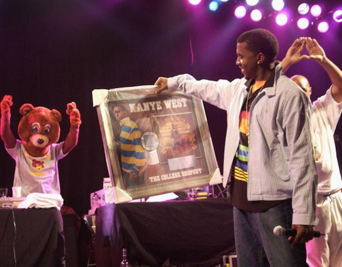 Kanye West Concert and Platinum Album Presentation