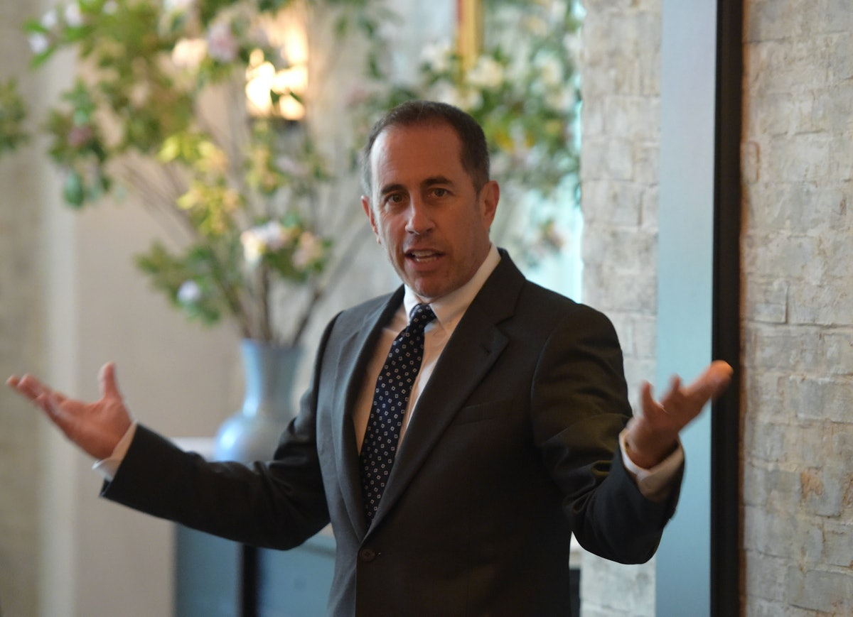GOOD+ Foundation & MR PORTER Host Fatherhood Lunch With Jerry Seinfeld In New York City