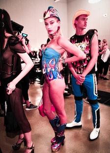Moschino Spring/Summer 18 Menswear And Women's Resort Collection - Backstage