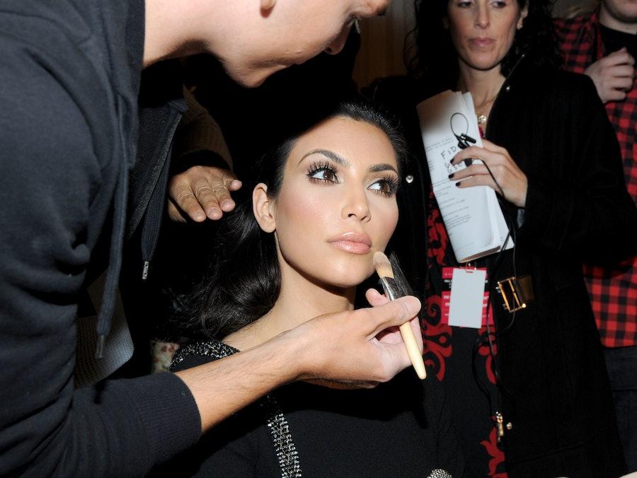 kim makeup