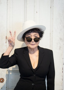 Yoko Ono Launches New Exhibition At The MCA