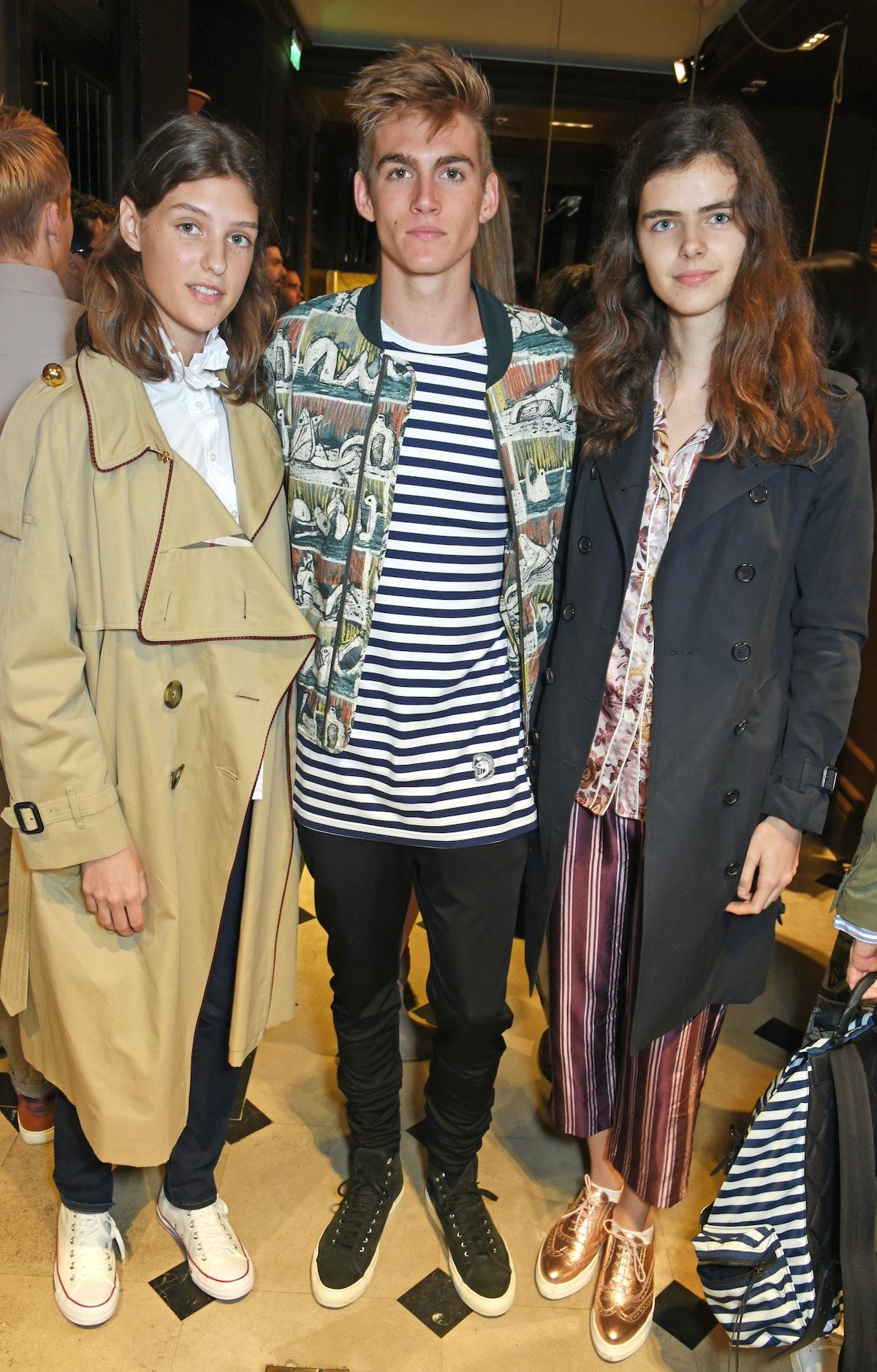 Christopher Bailey, Natalie Massenet And Dylan Jones Host Breakfast For London Fashion Week Men's