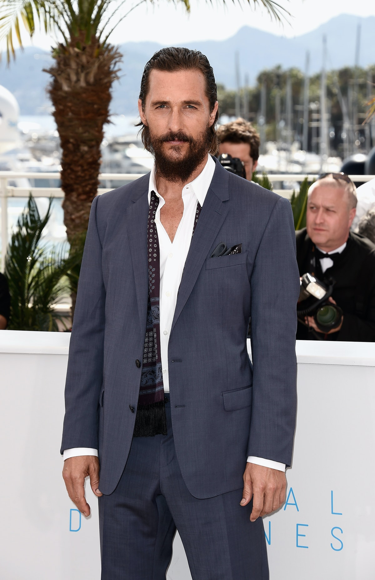 """""""The Sea Of Trees"""" Photocall - The 68th Annual Cannes Film Festival"""