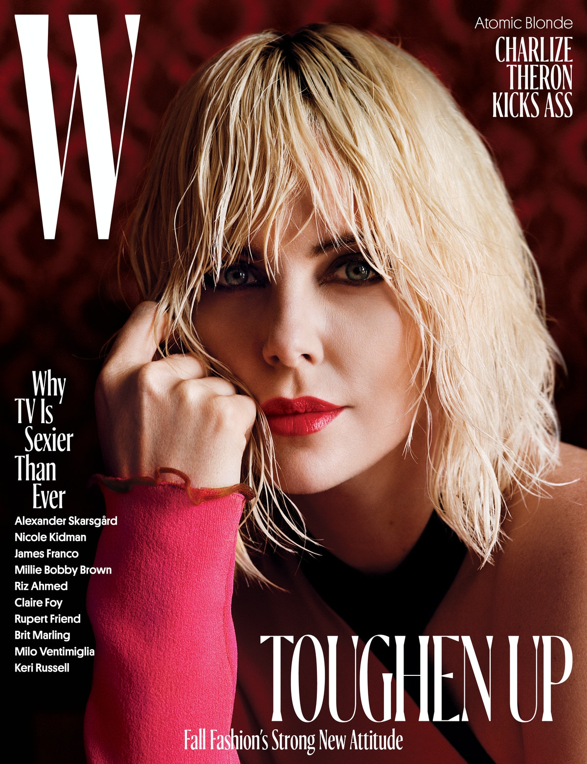 Charlize Theron - August 2017 Cover
