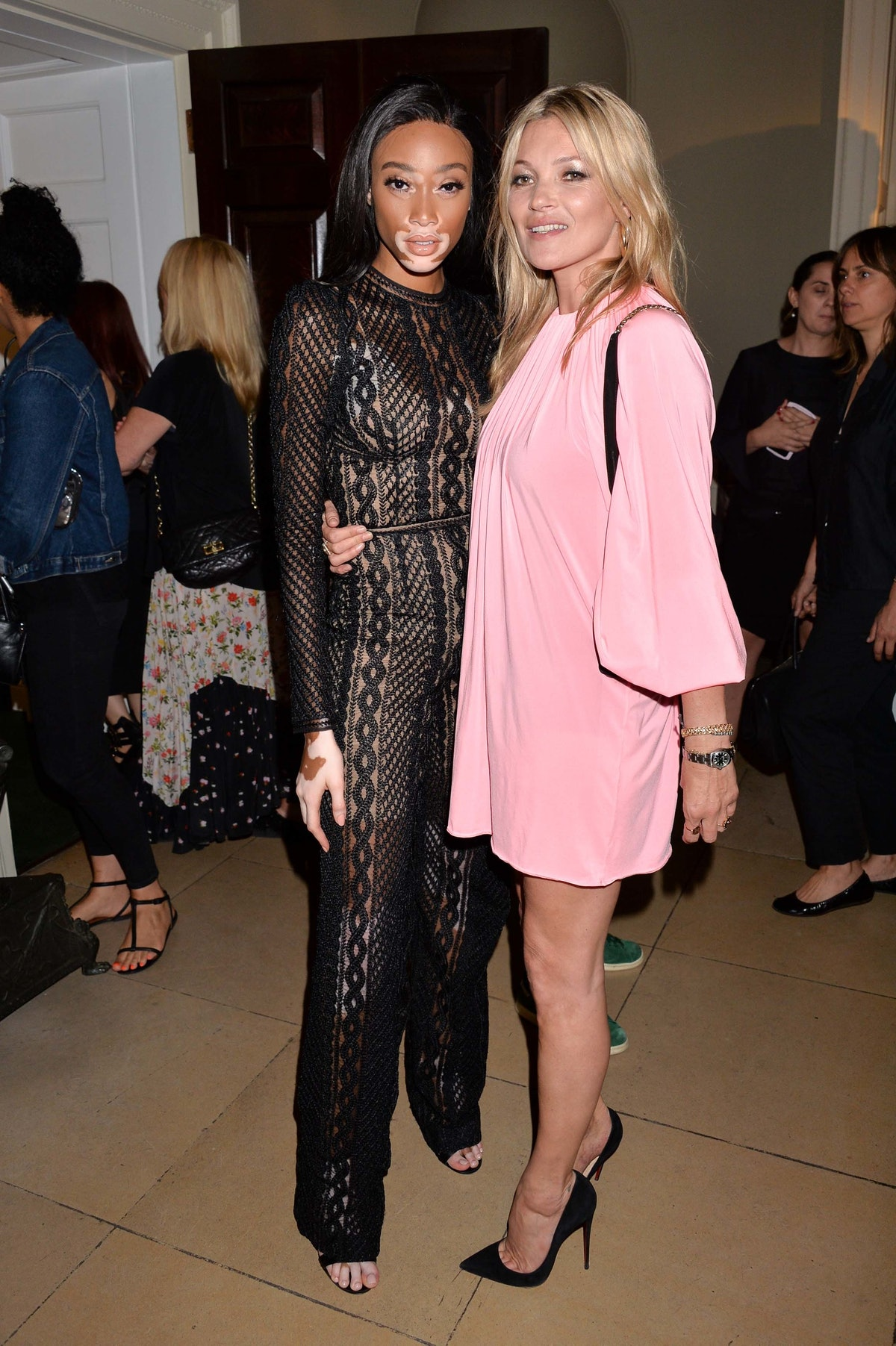 Kate Moss and Mario Sorrenti New OBSESSED Calvin Klein Fragrance Launch Party 22 Jun 2017