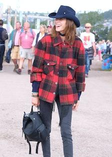 Celebrity sightings at Glastonbury 2017