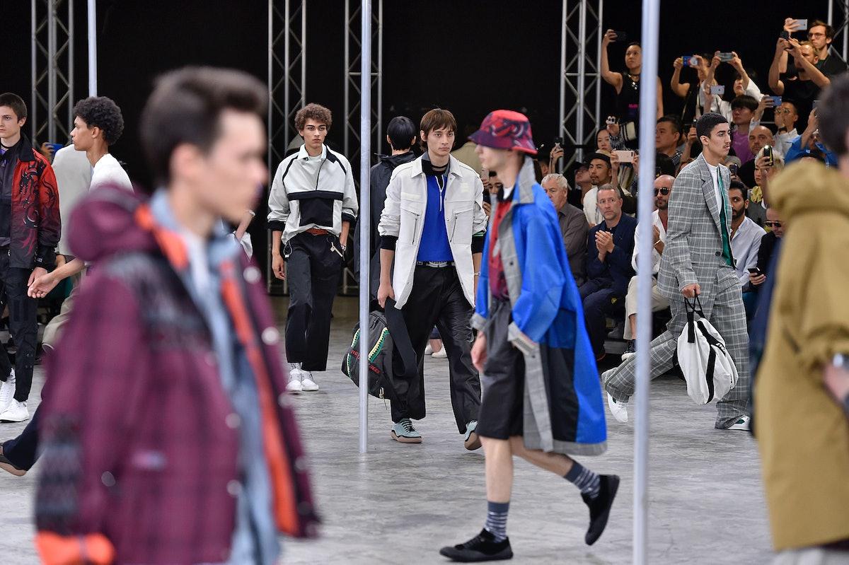 Lanvin : Runway - Paris Fashion Week - Menswear Spring/Summer 2018