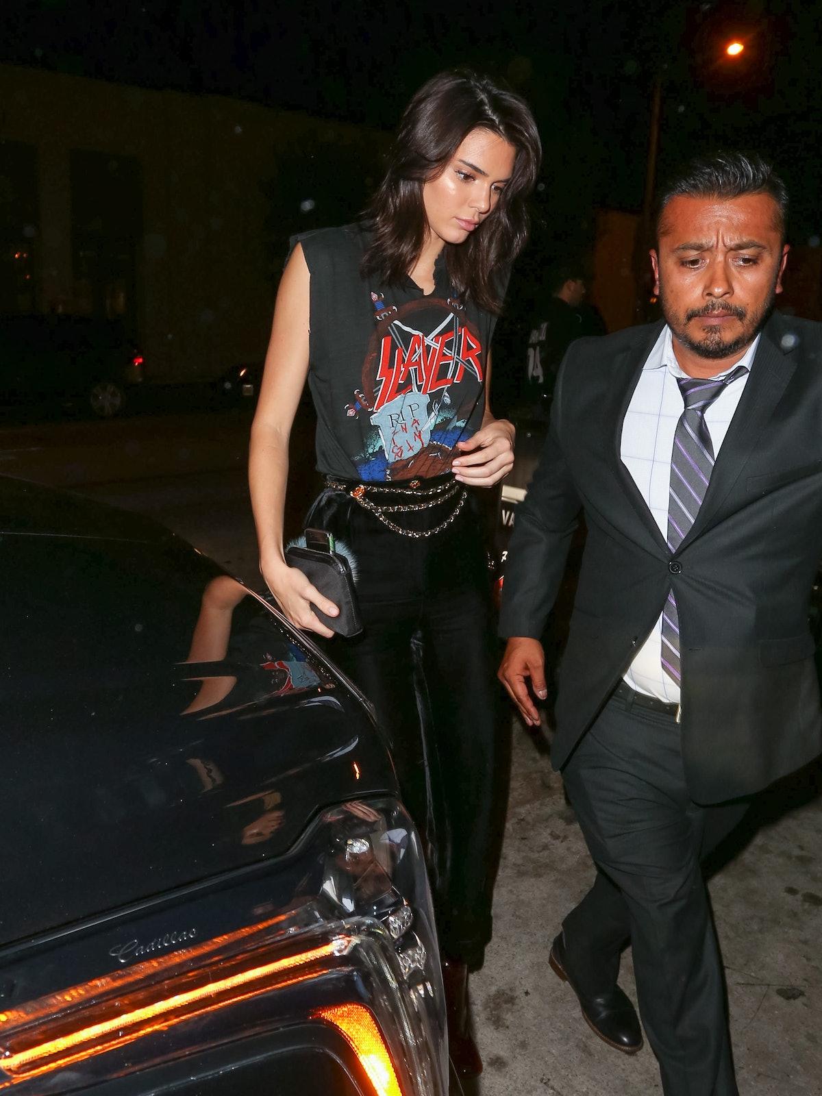 Celebrity Sightings In Los Angeles - October 13, 2016