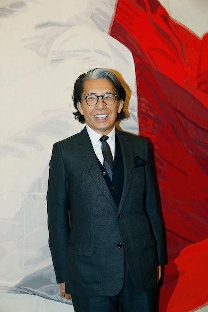 Kenzo Takada Is Decorated Chevalier de La Legion d'Honneur
