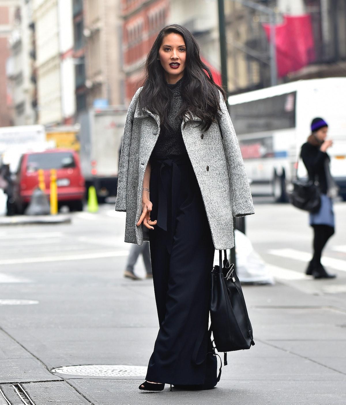 Celebrity Sightings in New York City - January 14, 2016