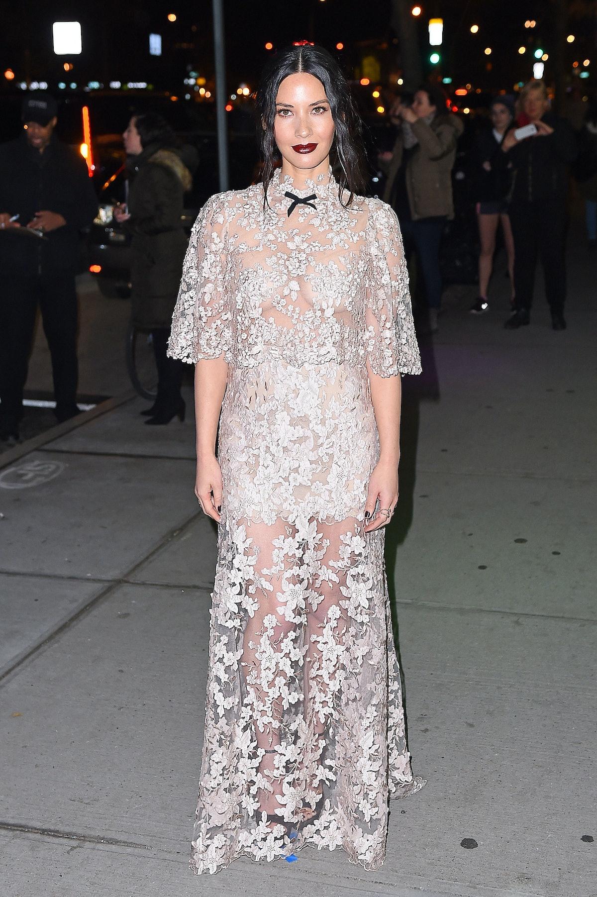 Celebrity Sightings In New York City - December 5, 2016